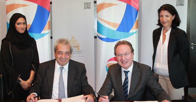 Sorbonne Université Abu Dhabi signe un MoU avec Total