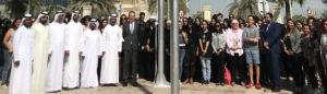 Sorbonne University Abu Dhabi celebrates UAE Flag Day