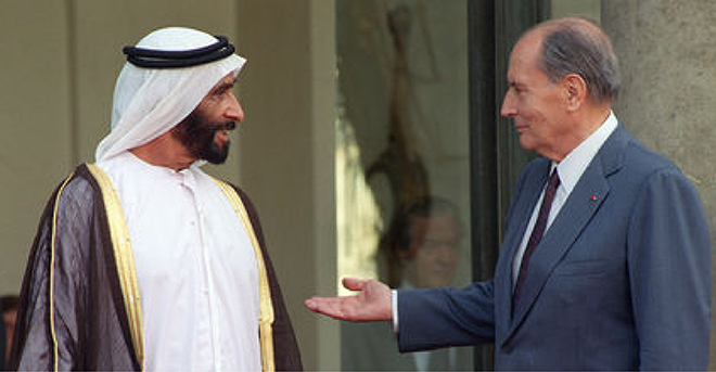 French cultural diplomacy in the UAE at the time of Sheikh Zayed (1974-2004)