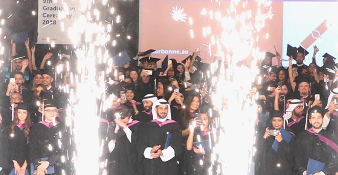 Sous le patronage de S.E. le Sheikh Nahayan Mabarak Al Nahayan, 261 étudiants deviennent diplômés de Sorbonne Université Abu Dhabi