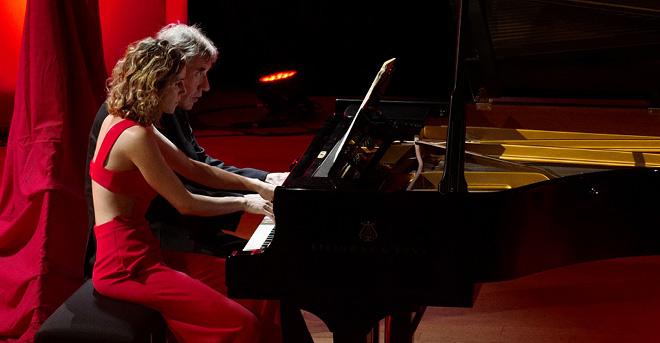 Concert Piano 4 mains par Emmanuelle Stephan & Gabriel Tacchino