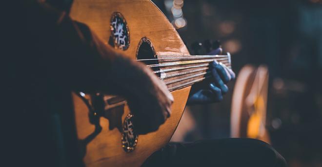 Oriental Rhythms : a night of music  & poetry