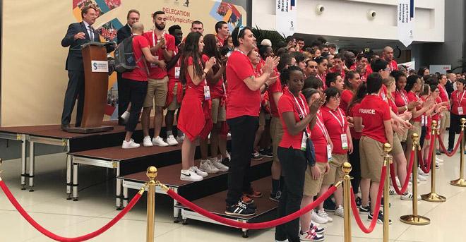 Les écoles françaises se réunissent à la Sorbonne  Abu Dhabi pour rencontrer et soutenir l'équipe des athlètes de Special Olympics France