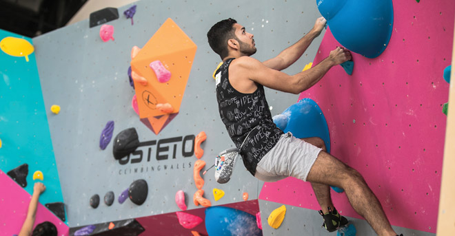 Sorbonne University in Abu Dhabi to host Open Climbing Championships International climbers to demonstrate their skills at the biggest climbing contest in the GCC
