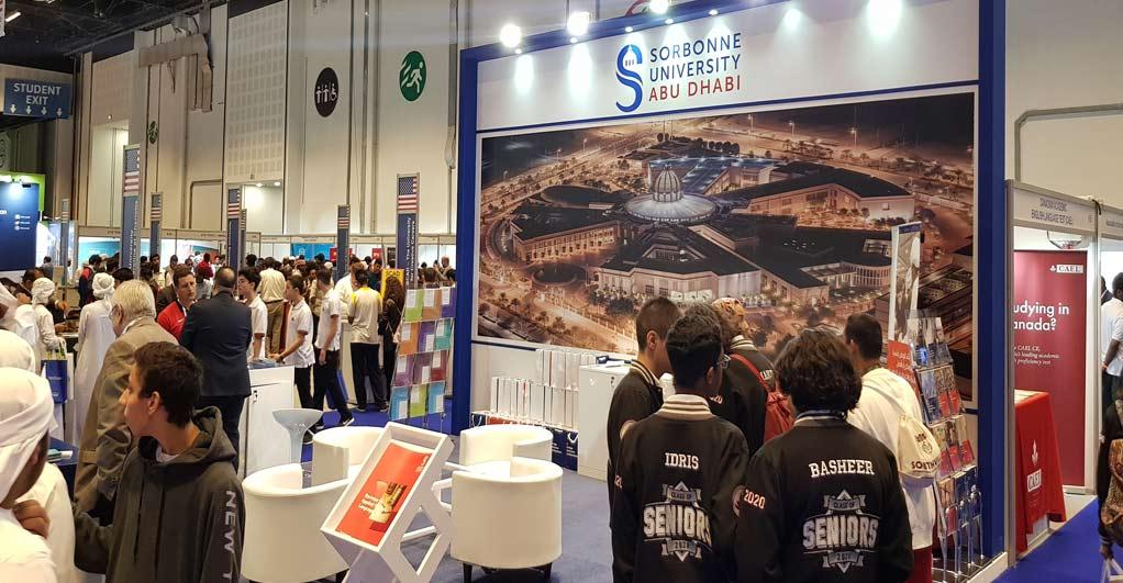 La Sorbonne Abu Dhabi participe à la 9ème édition du salon de l'enseignement supérieur et de la formation Najah