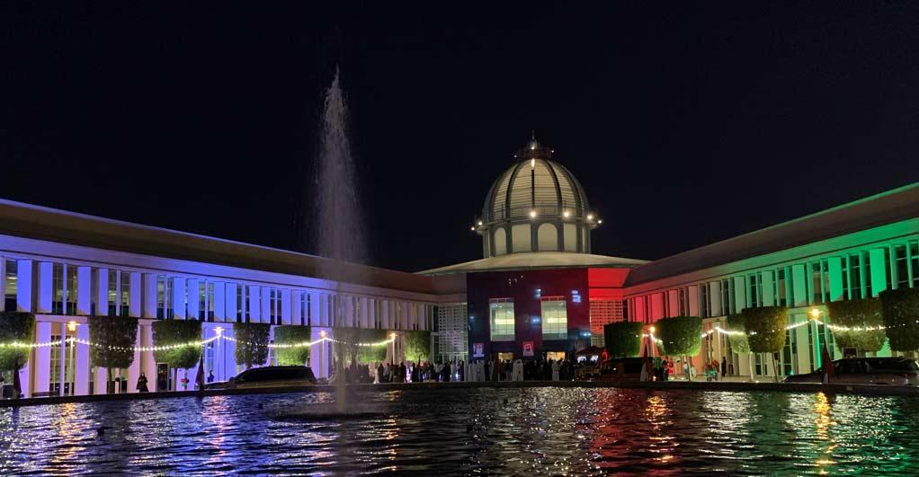 جامعة السوربون أبوظبي تُشارك الدولة احتفالاتها باليوم الوطني ال48