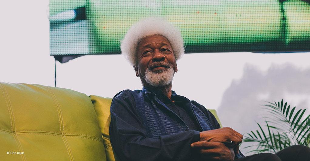 Hay Festival – Wole Soyinka, 1er lauréat nigérien du prix Nobel de littérature